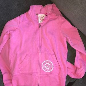 VS Pink Hooded Sweater